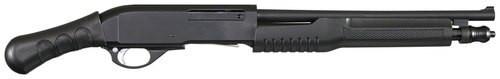 "Chiappa Honcho Pump 20 Ga 14"" Barrel, 3"", Pistol Grip Black, 5rd"