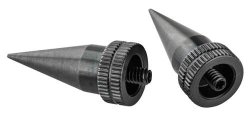 Accu-Tac LR-10 Spike Set Bi-Pod Feet Aluminum Black