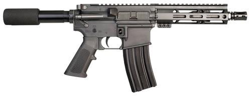 "I.O M215 AR-15 Pistoll 223/556, 7"" Barrel, Black, M-Lok Handguard, 30 Round Mag"