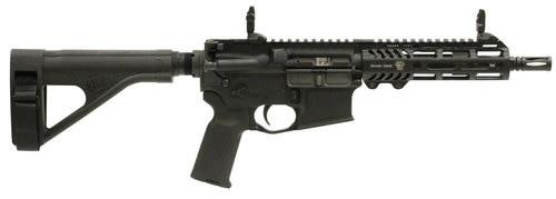 "Adams Arms P2 AR Pistol 223 Remington/5.56 NATO 7.5"" Polymer Black Nitride"