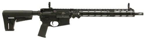 "Adams Arms P2 Rifle with Adjustable Block 223 Remington/5.56 NATO 16"" Barrel, 6-Position Black Stock Black Melonite, 30rd"