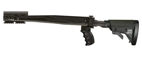 Advanced Technology SKS Strikeforce Six Position Side Folding Stock With Scorpion Recoil System Black