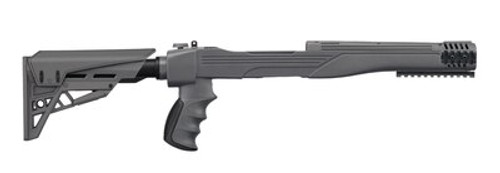 Advanced Technology Strikeforce Adjustable Side-Folding TactLite Stock For Ruger 10/22 Destroyer Gray