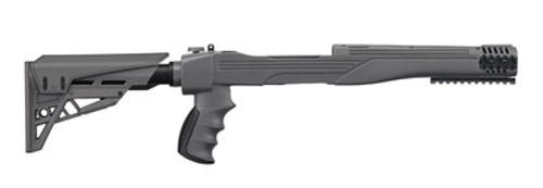 Advanced Technology Strikeforce Adjustable Side-Folding TactLite Stock For Ruger 10/22 Destroyer Gray