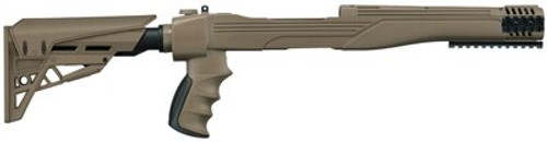 Advanced Technology Strikeforce Adjustable Side-Folding TactLite Stock For Ruger 10/22 Flat Dark Earth