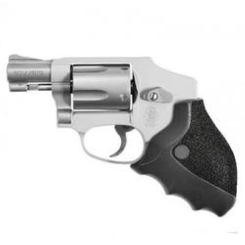 Ergo Delta Grip for Round Butt S&W J-Frame Revolvers, Ergonomic Rigid Rubber Overmolded Grip