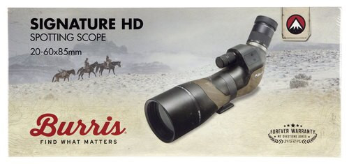 BUR SIGNATURE HD SPOTTING Scope 20-60X85
