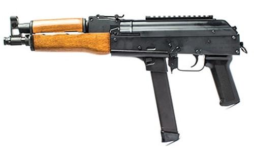 "Century Draco NAK9 AK Pistol 9mm Glock Mags (17/19) 11.14"" Barrel 33rd Mag"