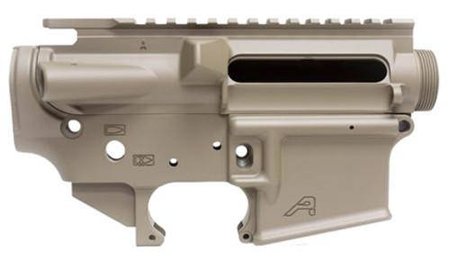 Aero Precision AR-15 Stripped Receiver Set AR-15 AR Platform Multi, Flat Dark Earth