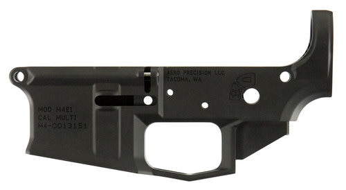 Aero Precision M4E1 AR-15  Multi-Cal Stripped Lower Receiver, Black