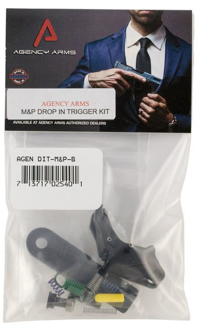 Agency Arms Drop-In Trigger S&W M&P Gen1 Aluminum Black