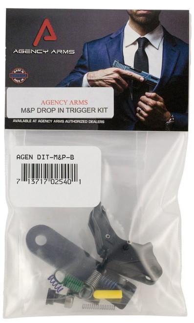 Agency Arms Drop-In Trigger S&W M&P Gen1 Aluminum Black