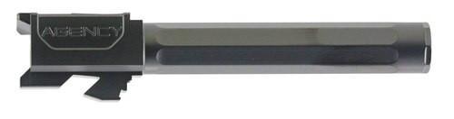 "Agency Arms Premier Line Barrel Compatible with Glock 17 9mm 4.48"" Black DLC"