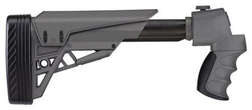 ATI Stikeforce Shotgun Stock Moss/Rem/Win 12 Ga Strikeforce Adjustable Side Folding Tactlite Shotgun Stock, Scorpion Recoil System In Destroyer Gray Destroyer Gray