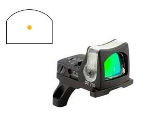 Trijicon RMR Dual Illuminated Sight -7.0 MOA Amber Dot, RM35 Mount