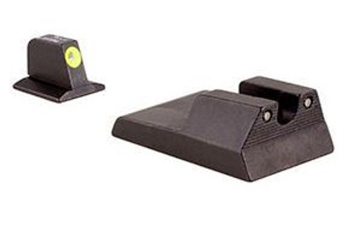 Trijicon Ruger SR9c HD Night Sight Set - Yellow Front Outline
