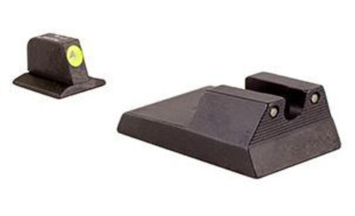 Trijicon Ruger SR9 40 40c HD Night Sight Set - Yellow Front Outline