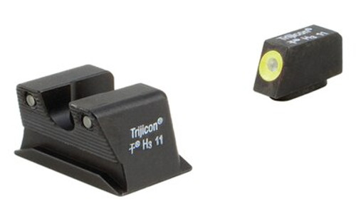 Trijicon Walther PPS / PPX HD Night Sight Set-Yellow