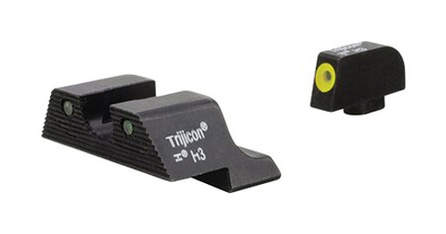 Trijicon 3Dot HD XR NS Yellow Glock 10mm/45 ACP