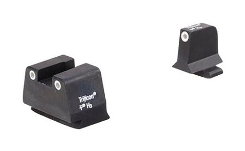 Trijicon 3Dot Suppressor NS FNH 9mm White/White