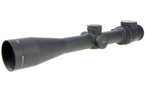 Trijicon Accupoint 2.5-12.5X42 Riflescope, Bac Red Triangle Post Reticle 30Mm Tube