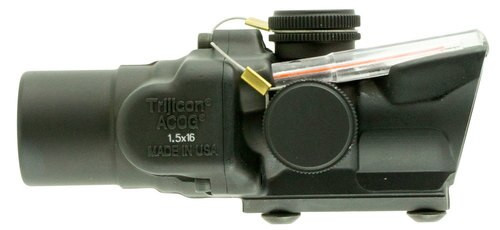 Trijicon ACOG 1.5x 16mm Obj 39 ft @ 100 yds FOV Black Dual Illuminated R