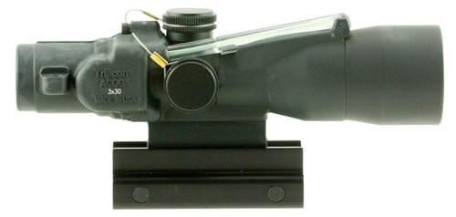 Trijicon ACOG 3x 30mm Obj 19.3 ft @ 100 yds FOV Black Dual Illuminated, TA33-C-400124