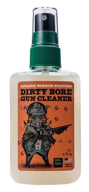 Advance Warrior Solutions Dirty Bore Gun Cleaner 4 oz Bottle, 12 Pack