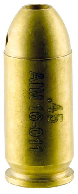 Aim Sports 45 Bore Sight Laser Boresighter Cartridge 45 ACP Chamber Bras