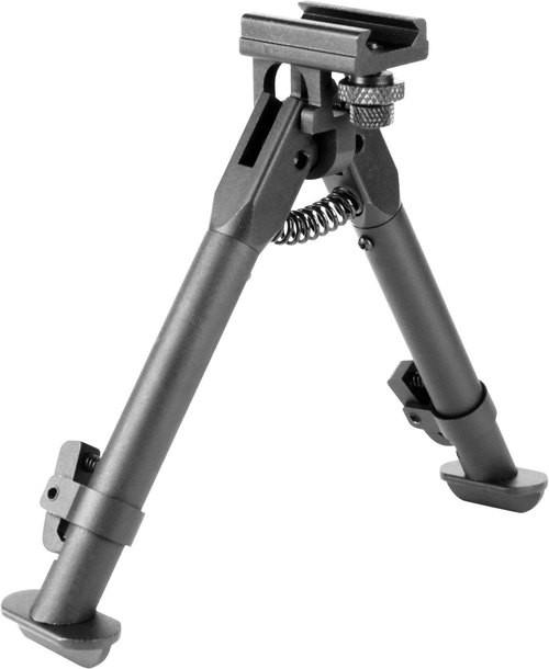 "Aim Sports AR Bipod Black Aluminum 6.5-9"""