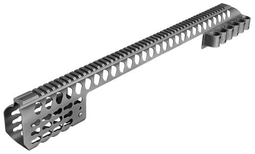 Aim Sports M-LOK Rail Mossberg 500 6061-T6 Aluminum Black 24.2""