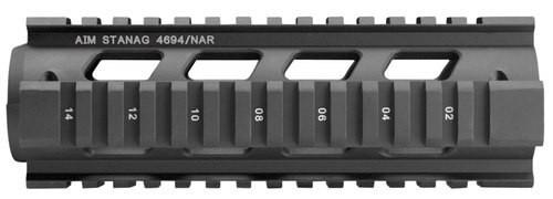 Aim Sports Stanag AR-15/M16/M4 Aluminum/Aircraft Grade Black/Anodized
