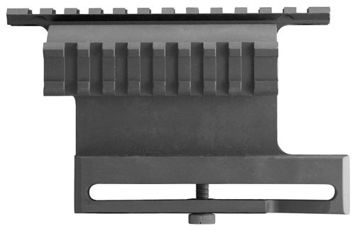 Aim Sports Dual Rail Side Mount Base For AK47 Picatinny Style Aluminum Bl