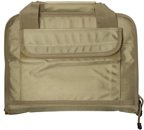"Aim Sports Discreet Pistol Bag 1680D Polyester 13.6"" L Flat Dark Earth"
