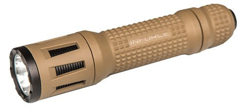 Inforce TFx Handheld LED 40/700 Lumens CR123A Lithium (2) Flat Dark E