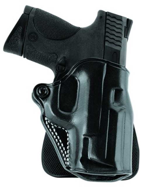 Galco Speed Paddle Ruger SP101; Taurus 605 Saddle Leather, Black
