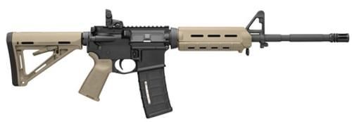 Bushmaster AR-15 5.56/223 MOE M4 Carbine, Flat Dark Earth, Magpul MOE Equiped 30rd Mag