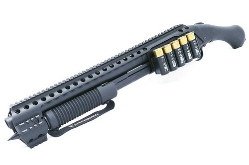 Black Aces Shockwave Qual Rail Side Shell Holder for Mossberg