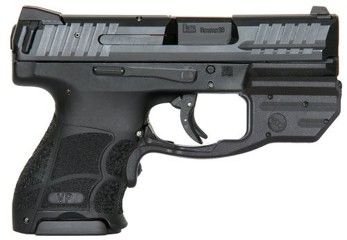 HK VP9SK Subcompact 9mm Green CT Laserguard 10rd Mag