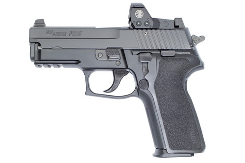 "Sig P229 Legion 9MM, Romeo 1 Red Dot 3.9"" Barrel Gray PVD Finish 15rd Mag"