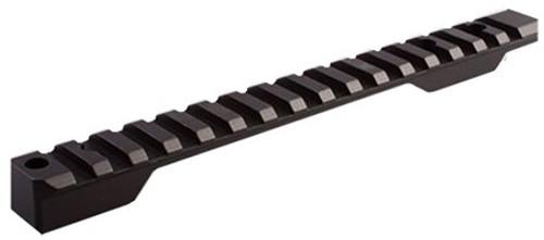 Talley Picatinny Rail For Remington 700 Short Action Black Matte Fini