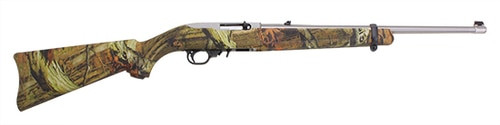 Ruger 10/22 Mossy Oak Camo, Stainless Steel