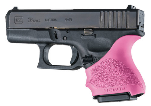 Hogue Handall Grip Sleeve Glock 26/27 PINK