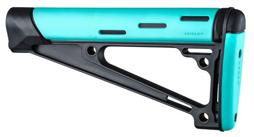 Hogue AR-15 OM Fixed Buttstock A2 Aqua