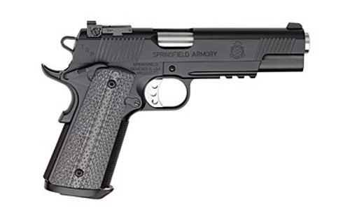 "Springfield 1911 Tactical Response Pistol TRP Operator, 1911 45 ACP, 5"" Bull Barrel, StG10 Grips, Night Sights, 7rd Mag"