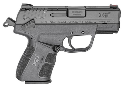 """Springfield XDE Package 9MM 3.3"""" Barrel Black Melonite Finish FO Front/Combat Rear Sight 8rd & 9rd Mag"""