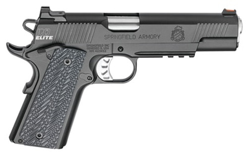 "Springfield Range Officer Elite, Operator 1911 9MM, 5"" Barrel, G10 Black Grips, 2-9Rd Mags"