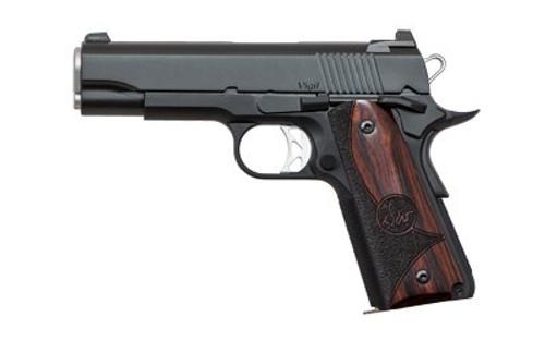 "Dan Wesson 1911 Vigil Commander Single 9mm 4.25"" Barrel Wood Grips 9rd Mag"
