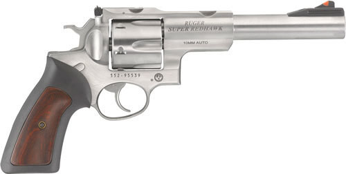 "Ruger Super Redhawk10MM 7.5"" Barrel SS, Hogue Tamer Grips TALO Edition"