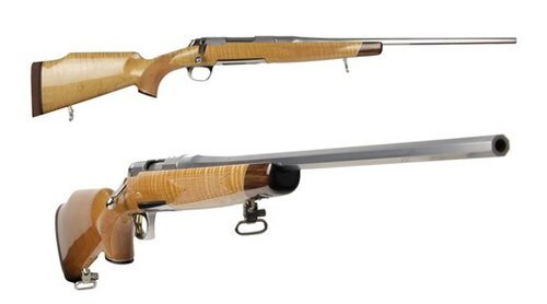 """Browning XBOLT White Gold 308 22"""" Octagon Barrel Maple Stock"""
